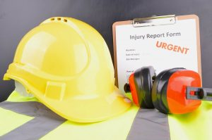 Construction accident form