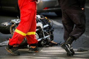 Motorcycle accident response