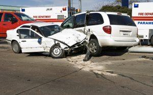 Car Crash with Responding Paramedics